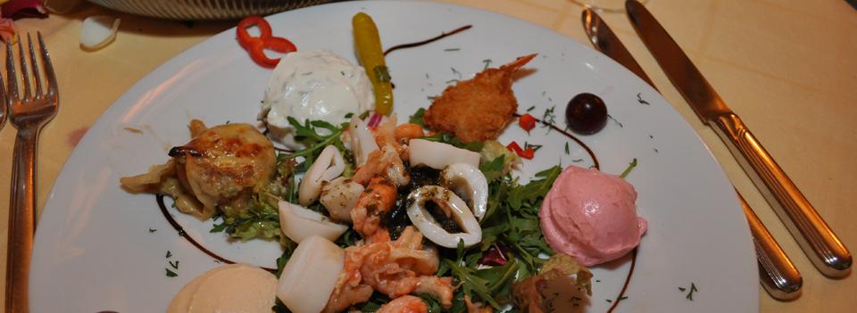 Speisen im Bacchus ist wie Urlaub in Griechenland